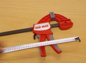 Jednoruční svěrka Bar-Man, 60 cm