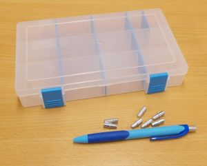 Krabička-organizer , transp. 206x137x35 mm