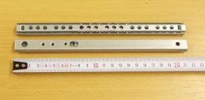 Kuličkový mikrovýsuv - délka 220 mm - bal=1pár