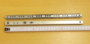 Kuličkový mikrovýsuv - délka 280 mm - bal=1pár