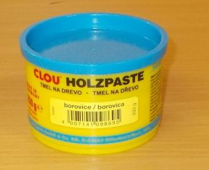 Tmel na dřevo CLOU - barva borovice - 250 g